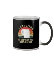 I SURVIVED THE GREAT TOILET PAPER SHORTAGE  Color Changing Mug thumbnail