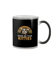 SHOW ME YOUR KITTIES Color Changing Mug thumbnail