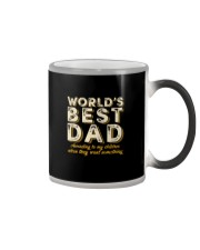 WORLD'S BEST DAD Color Changing Mug thumbnail