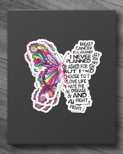 BUTTERFLY BREAST CANCER Sticker - 4 pack (Vertical) aos-sticker-4-pack-vertical-lifestyle-front-10