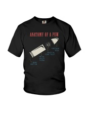 ANATOMY OF A PEW Youth T-Shirt thumbnail