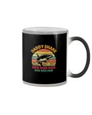 DADDY SHARK DOO DOO DOO Color Changing Mug thumbnail