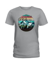 IT'S ANOTHER HALF MILE OR SO Ladies T-Shirt thumbnail