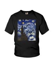 PITBULL VAN GOGH Youth T-Shirt thumbnail