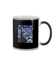 PITBULL VAN GOGH Color Changing Mug thumbnail