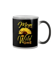 MOM OF THE WILD ONE Color Changing Mug thumbnail