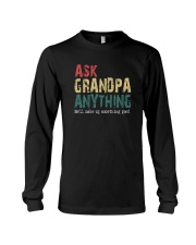 ASK GRANDPA ANYTHING Long Sleeve Tee thumbnail
