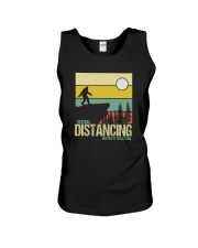 SOCIAL DISTANCING BEFORE IT WAS COOL Unisex Tank thumbnail