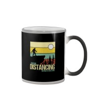 SOCIAL DISTANCING BEFORE IT WAS COOL Color Changing Mug thumbnail