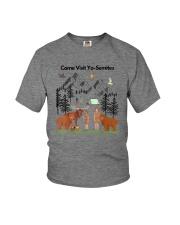 COME VISIT YO-SEMITE Youth T-Shirt thumbnail