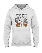 COME VISIT YO-SEMITE Hooded Sweatshirt thumbnail