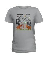 COME VISIT YO-SEMITE Ladies T-Shirt thumbnail
