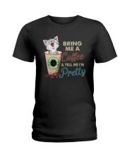 BRING ME COFFEE CAT Ladies T-Shirt thumbnail