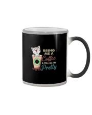 BRING ME COFFEE CAT Color Changing Mug thumbnail