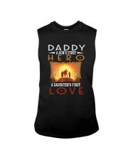 DADDY SON'S FIRST HERO DAUGHTER'S FIRST LOVE Sleeveless Tee thumbnail