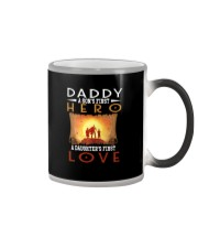 DADDY SON'S FIRST HERO DAUGHTER'S FIRST LOVE Color Changing Mug thumbnail