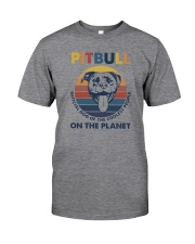 PITBULL OFFICIAL DOG OF THE COOLEST PEOPLE Classic T-Shirt front
