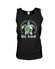 BE KIND TURTLE Unisex Tank thumbnail