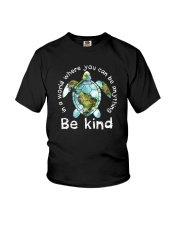BE KIND TURTLE Youth T-Shirt thumbnail