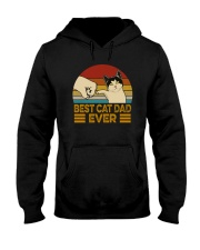 BEST CAT DAD EVER Hooded Sweatshirt thumbnail