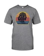 VINTAGE SPEAK YOUR MIND Classic T-Shirt front