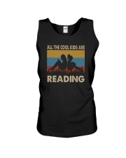 ALL THE COOL KIDS ARE READING Unisex Tank thumbnail