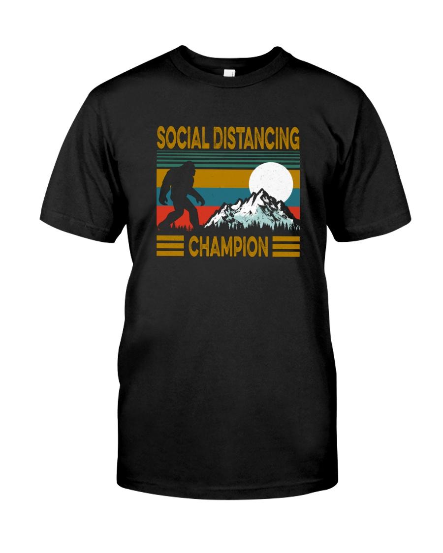 SOCIAL DISTANCING CHAMPION VINTAGE Classic T-Shirt