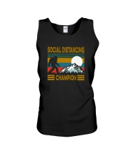 SOCIAL DISTANCING CHAMPION VINTAGE Unisex Tank thumbnail