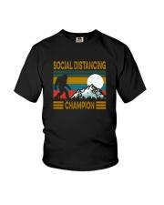 SOCIAL DISTANCING CHAMPION VINTAGE Youth T-Shirt thumbnail