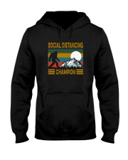 SOCIAL DISTANCING CHAMPION VINTAGE Hooded Sweatshirt thumbnail