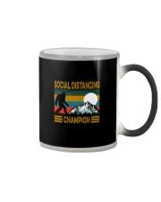 SOCIAL DISTANCING CHAMPION VINTAGE Color Changing Mug thumbnail