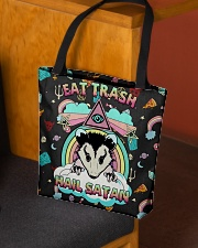 EAT TRASH HAIL SATAN All-over Tote aos-all-over-tote-lifestyle-front-02