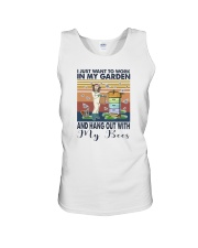 WORK IN MY GARDEN AND HANG OUT WITH MY BEES Unisex Tank thumbnail