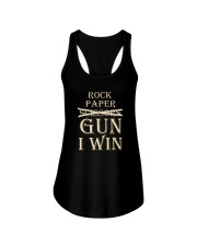 ROCK PAPER GUN I WIN Ladies Flowy Tank thumbnail