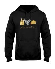 PEACE LOVE TACOS Hooded Sweatshirt thumbnail
