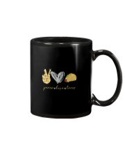 PEACE LOVE TACOS Mug thumbnail
