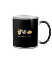 PEACE LOVE TACOS Color Changing Mug thumbnail