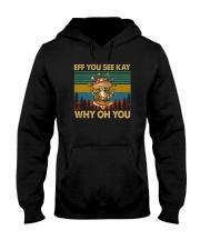 EFF YOU SEE KEY WHY OH YOU MUSHROOM VT Hooded Sweatshirt thumbnail