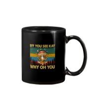 EFF YOU SEE KEY WHY OH YOU MUSHROOM VT Mug thumbnail