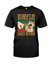 BEST Shiba Inu DAD EVER Classic T-Shirt front