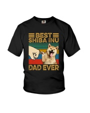 BEST Shiba Inu DAD EVER Youth T-Shirt thumbnail