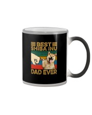 BEST Shiba Inu DAD EVER Color Changing Mug thumbnail