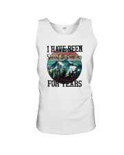 I HAVE BEEN SOCIAL DISTANCING FOR YEARS HIKING Unisex Tank thumbnail