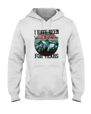 I HAVE BEEN SOCIAL DISTANCING FOR YEARS HIKING Hooded Sweatshirt thumbnail