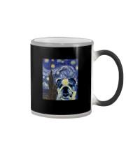 VAN GOGH BULLDOG Color Changing Mug thumbnail