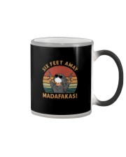 SIX FEET AWAY MADAFAKAS Color Changing Mug thumbnail