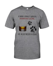 whiskey dog Classic T-Shirt front