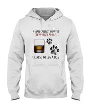 whiskey dog Hooded Sweatshirt thumbnail