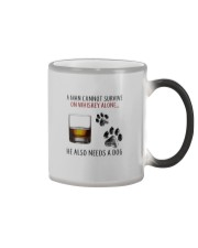 whiskey dog Color Changing Mug thumbnail