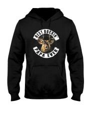 BEST BUCKIN' PAPA EVER Hooded Sweatshirt thumbnail